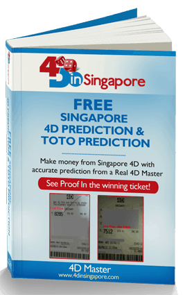 Singapore 4D Ebook v1 4D in Singapore Ebook on Singapore Pools coming soon!