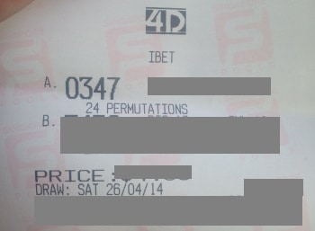26 april winning ticket 2014
